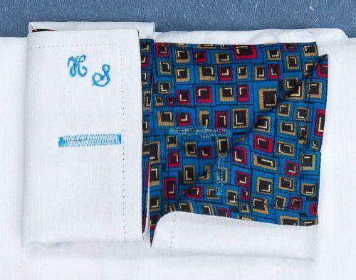 Customizing your dress shirts senszio for Dress shirt monogram placement
