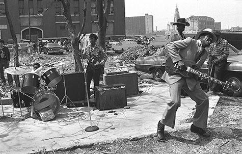 Senszio Journal Pat Rushing Maxwell Street Blues Band 1981