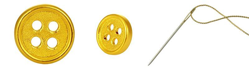 bespoke gold buttons 24k real solid suits