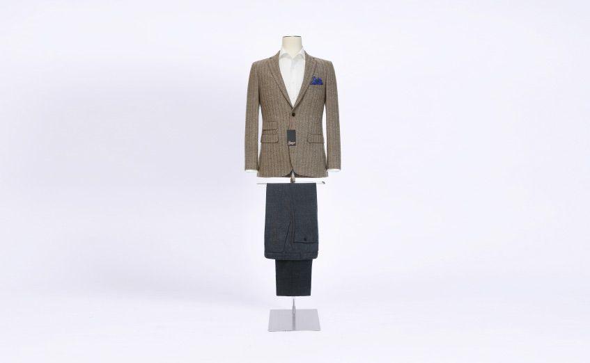 Urban Suit Style Creative Brown Wool Senszio Bespoke 847x522