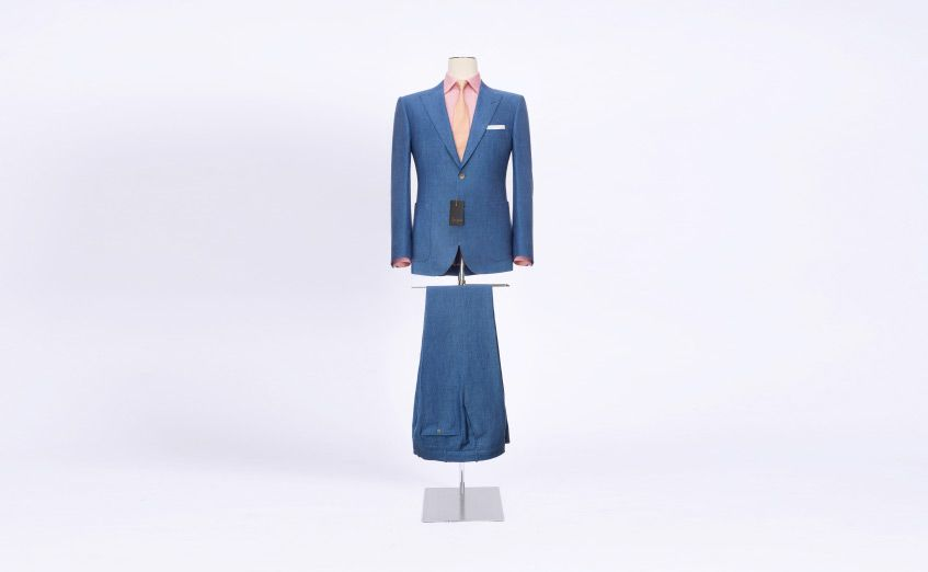 urban suit entrepreneur light blue senszio bespoke