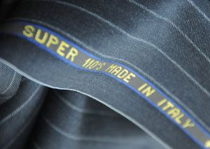 Pinstripe Suit Fabric Super 110s Made In Italy 300x213