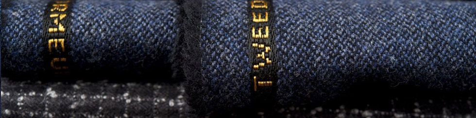 Fabric Mill Dormeuil Tweed Bespoke Suits Wool Cloth Rolls 980x244