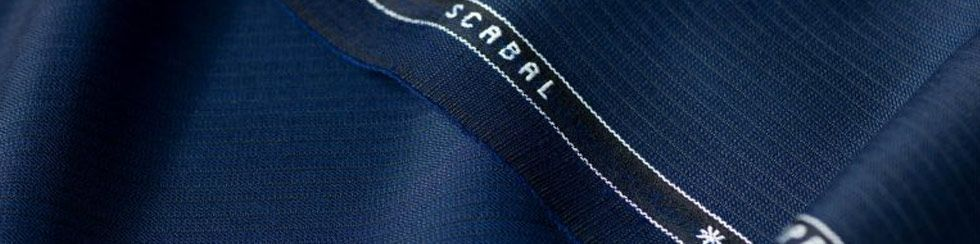 scabal fabric mill roll