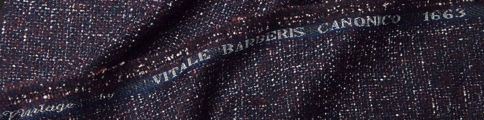 Fabric Mill Vitale Barberis Canonico Bespoke Suits Wool Vintage Cloth Rolls 980x244