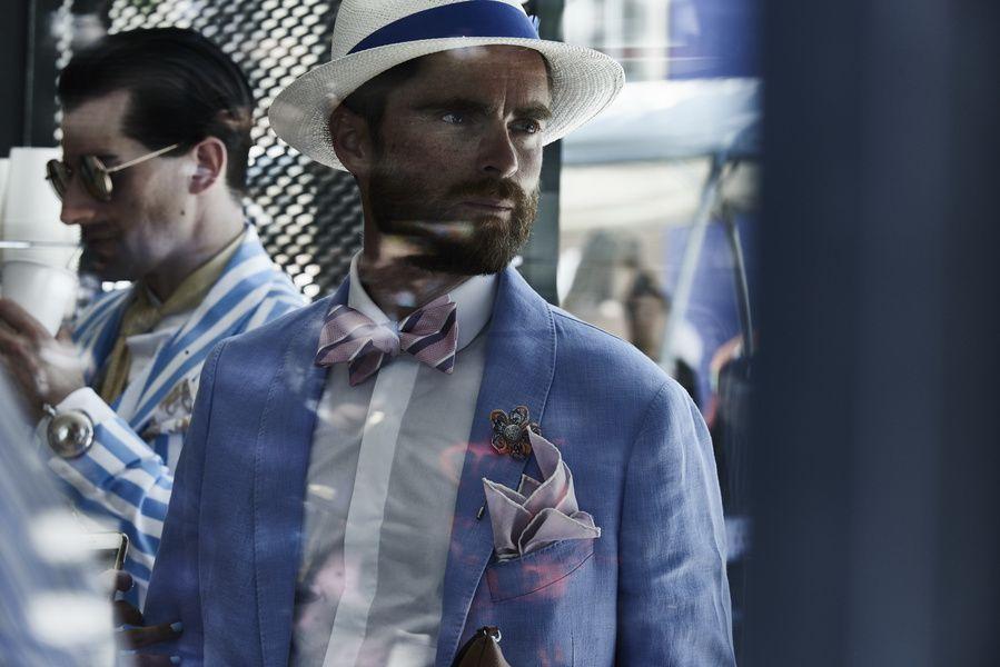 Pitti Immagine Uomo style fashion suit dapper event Enrico Labriola
