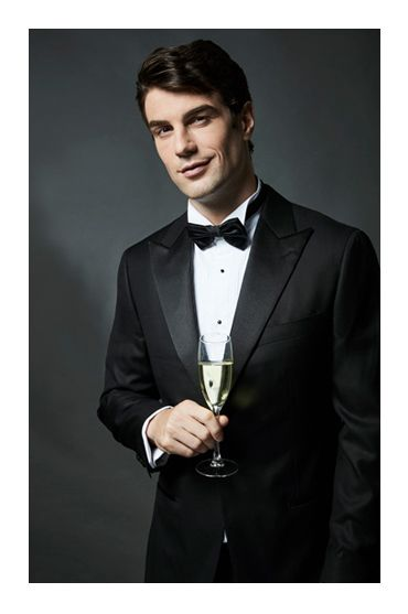 spring style photoshoot uros senszio bespoke black tuxedo tie silk suit jacket fashion