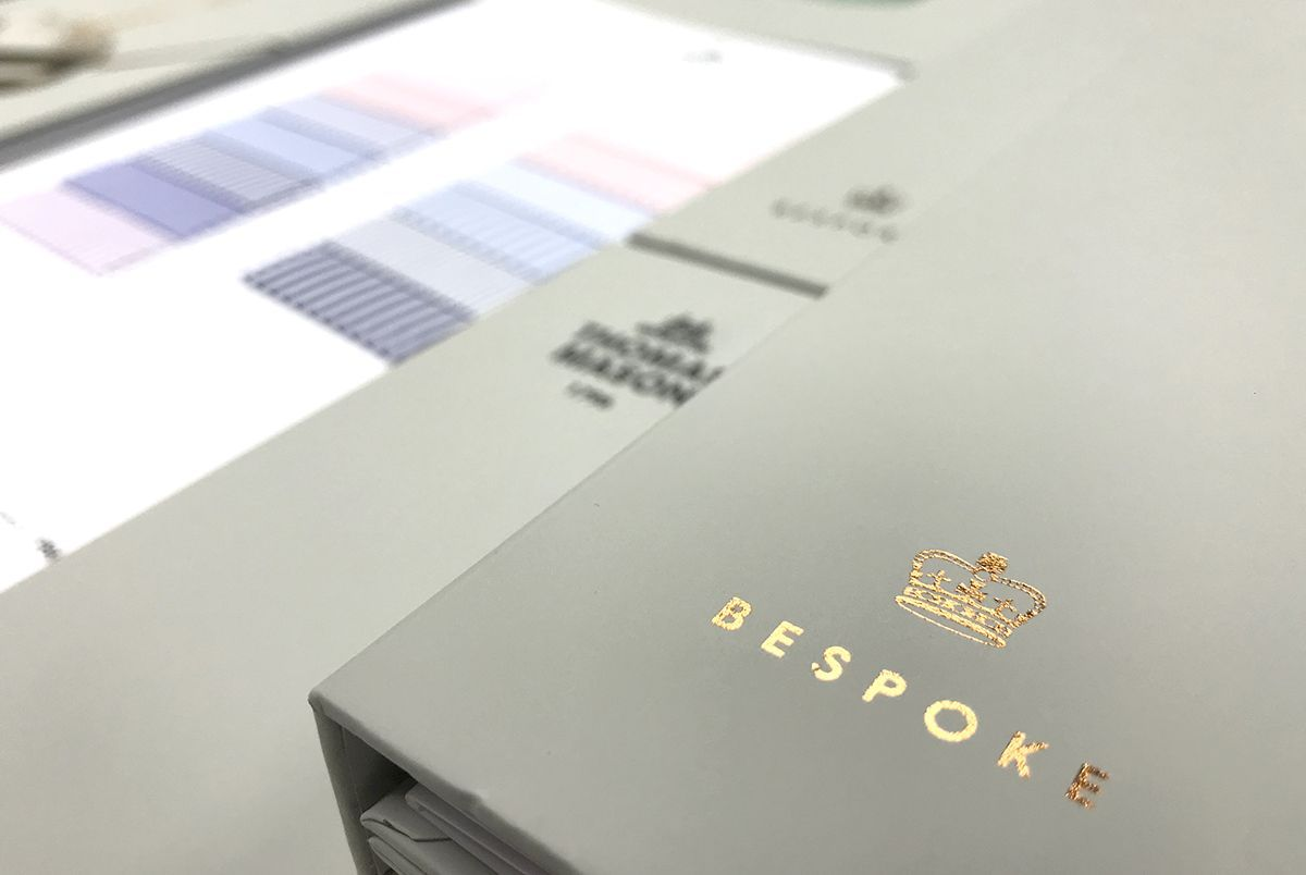Thomas Mason Bespoke Books