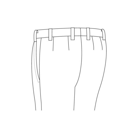 Senzio Garment Finals V1 Tuxedo Back Pocket None