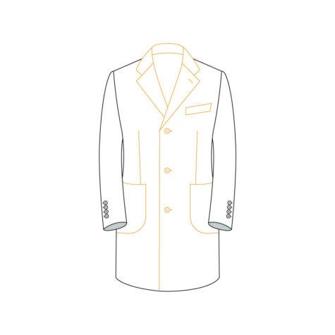 Senzio Garment Finals V2 Coat Style 1