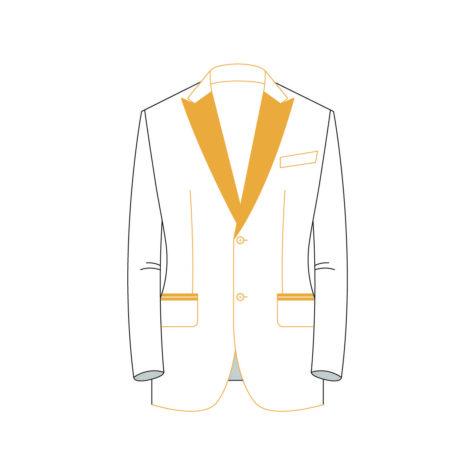 Senzio Garment Finals V2 Tuxedo Jacket Style 1