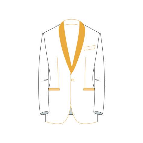 Senzio Garment Finals V2 Tuxedo Jacket Style 3