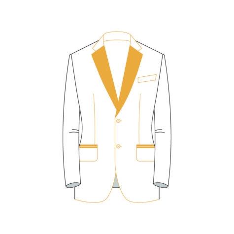 Senzio Garment Finals V2 Tuxedo Jacket Style 4