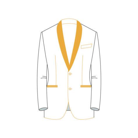 Senzio Garment Finals V2 Tuxedo Jacket Style 5
