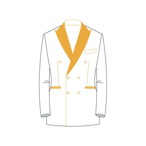 Senzio Garment Finals V2 Tuxedo Jacket Style 6