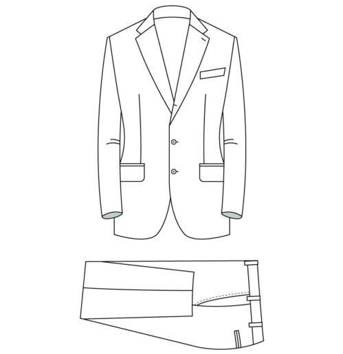 Senzio Garment Finals V2 66 Suit