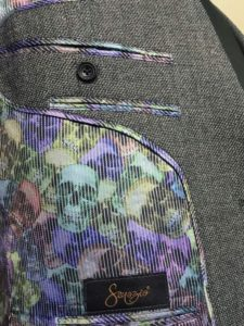 Suit Liner Style Design Color Pattern Bespoke Custom Customize Rainbow Skulls 525x700